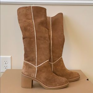 UGG Kasen Tall Suede Boots Suede
